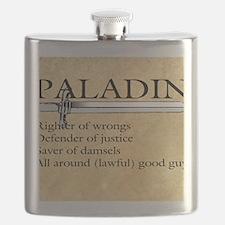 Paladin - Lawful good guy Flask