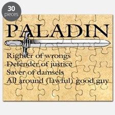 Paladin - Lawful good guy Puzzle