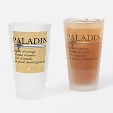 Paladin - Lawful good guy Drinking Glass