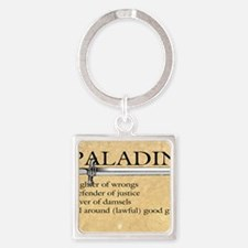 Paladin - Lawful good guy Square Keychain