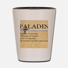 Paladin - Lawful good guy Shot Glass
