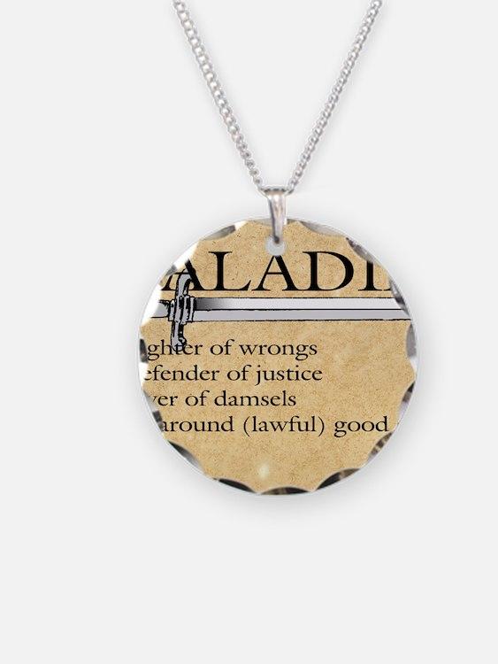 Paladin - Lawful good guy Necklace