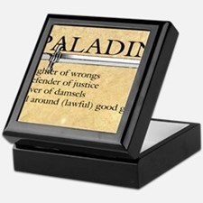 Paladin - Lawful good guy Keepsake Box