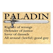 Paladin - Lawful good guy Postcards (Package of 8)