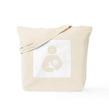 Breastfeeding [white] Tote Bag