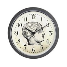 Steampunk Brain Wall Clock