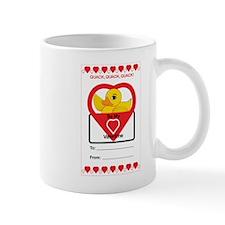 Valentine Duck Mugs