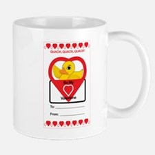 Valentine Duck Mugs