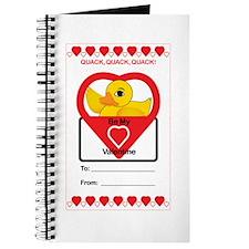 Valentine Duck Journal