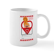 Valentine Squirrel Mugs