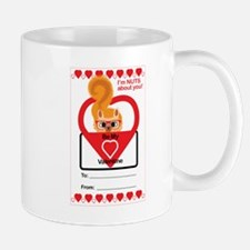 Valentine Squirrel Mugs