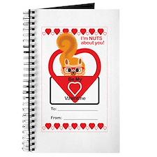 Valentine Squirrel Journal