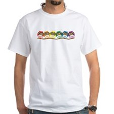 Rainbow Owls T-Shirt T-Shirt