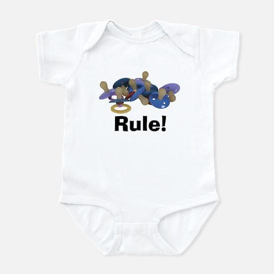 Pacifiers Rule Infant Bodysuit