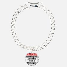 warning-alcohol-shenanig Bracelet