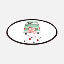 Just Married Car Patches