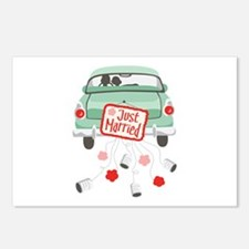 Just Married Car Postcards (Package of 8)
