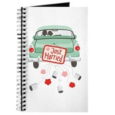Just Married Car Journal