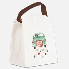 Just Married Car Canvas Lunch Bag