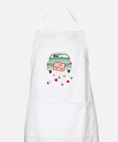 Just Married Car Apron