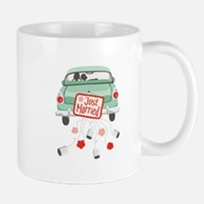 Just Married Car Mugs