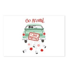Go Around. Postcards (Package of 8)