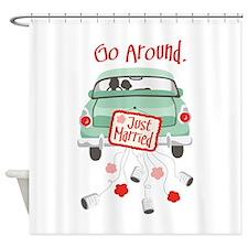 Go Around. Shower Curtain