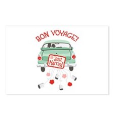 BON VOYAGE! Postcards (Package of 8)