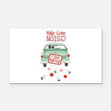 Make Some NOISE! Rectangle Car Magnet