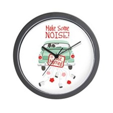Make Some NOISE! Wall Clock