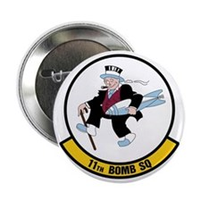 "USAF: 11th Bomb Squadron 2.25"" Button"