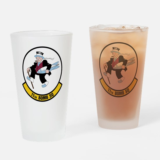USAF: 11th Bomb Squadron Drinking Glass