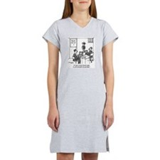 At Least Itll Be White Collar C Women's Nightshirt