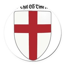Gimme That Old Time Religion Round Car Magnet
