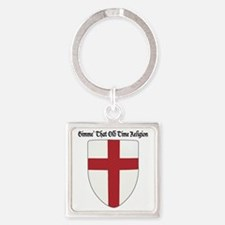 Gimme That Old Time Religion Square Keychain