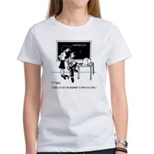 Divide 25 Books Among 34 Students Tee