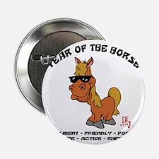 "horseA68light 2.25"" Button"