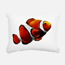 Orange Clownfish Tropica Rectangular Canvas Pillow
