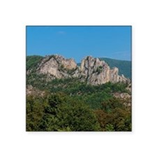 "SENECA ROCKS Square Sticker 3"" x 3"""