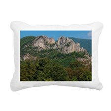 SENECA ROCKS Rectangular Canvas Pillow