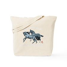 horseA67dark Tote Bag