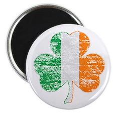 Vintage Irish Flag Shamrock Magnets