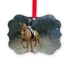 PB Piaffe Dressage Horse Ornament