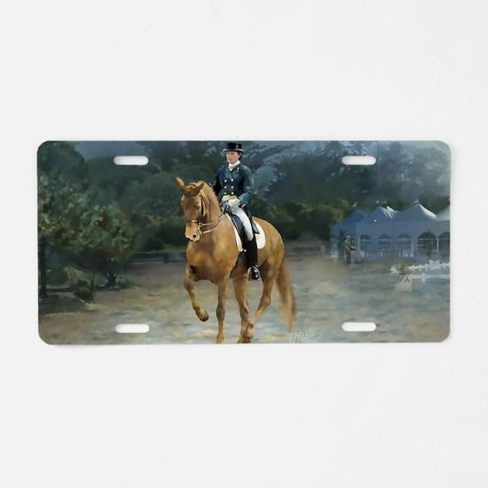 PB Piaffe Dressage Horse Aluminum License Plate