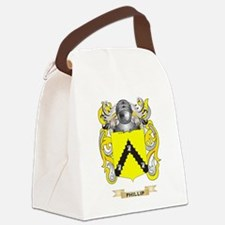 Phillip Coat of Arms (Family Cres Canvas Lunch Bag