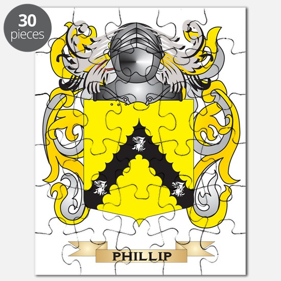 Phillip Coat of Arms (Family Crest) Puzzle