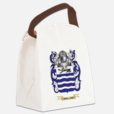 Phillips Coat of Arms (Family Cre Canvas Lunch Bag