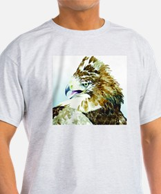Red-tail Watercolor T-Shirt