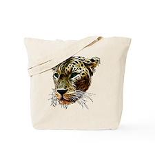 Cat Leopard Head Tote Bag