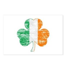 Vintage Irish Flag Shamrock Postcards (Package of